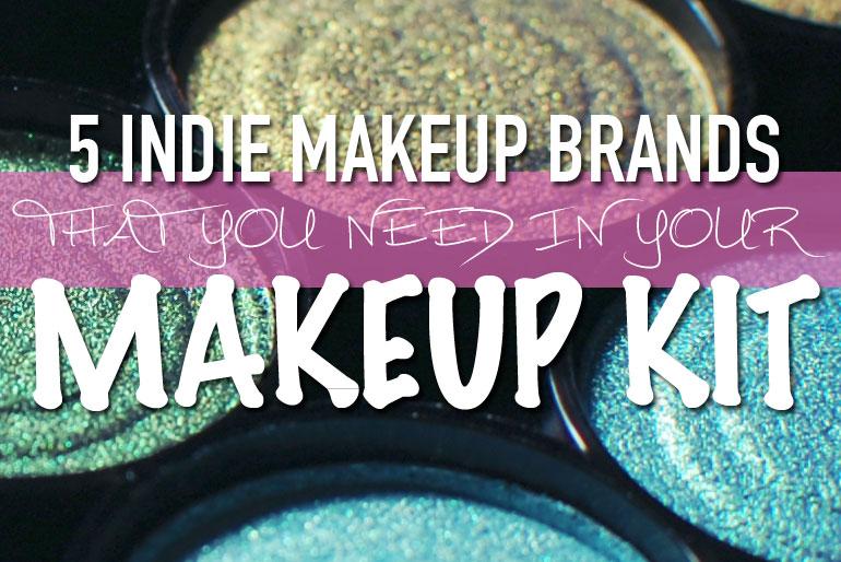 5 Indie Makeup Brands